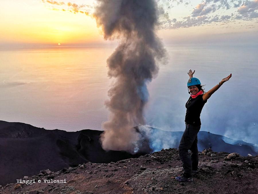 viaggi e vulcani stromboli