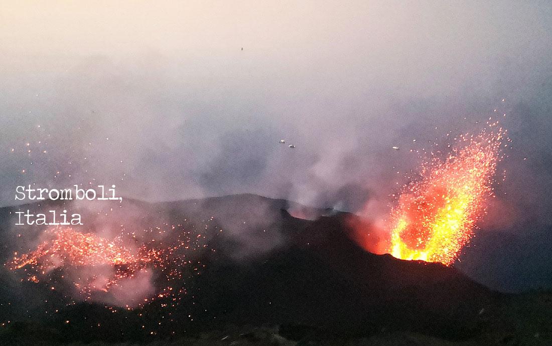 viaggi e vulcani - stromboli