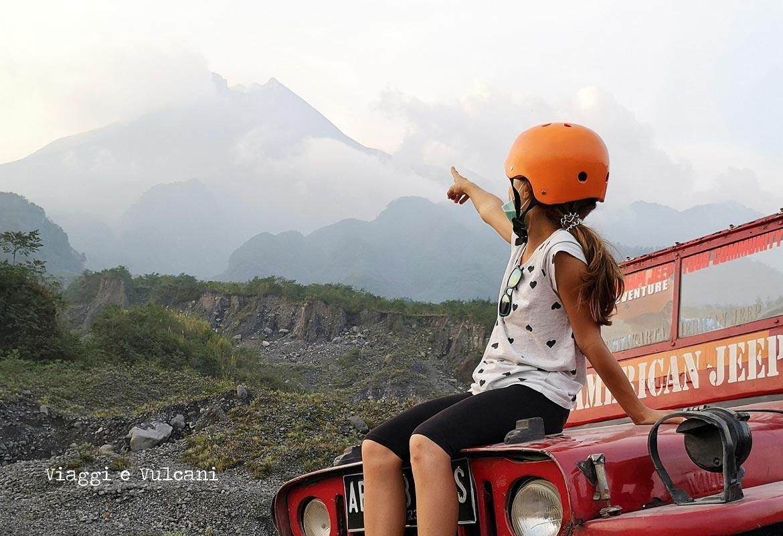 libri sui vulcani per bambini - vulcano merapi per bambini