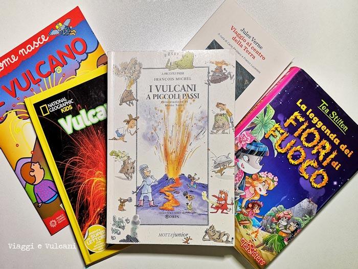 libri sui vulcani per bambini